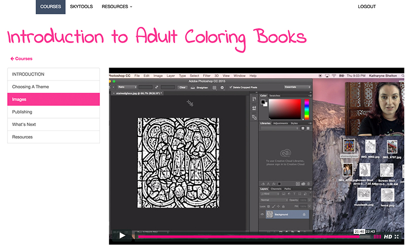 Introduction to Coloring Books for Adults